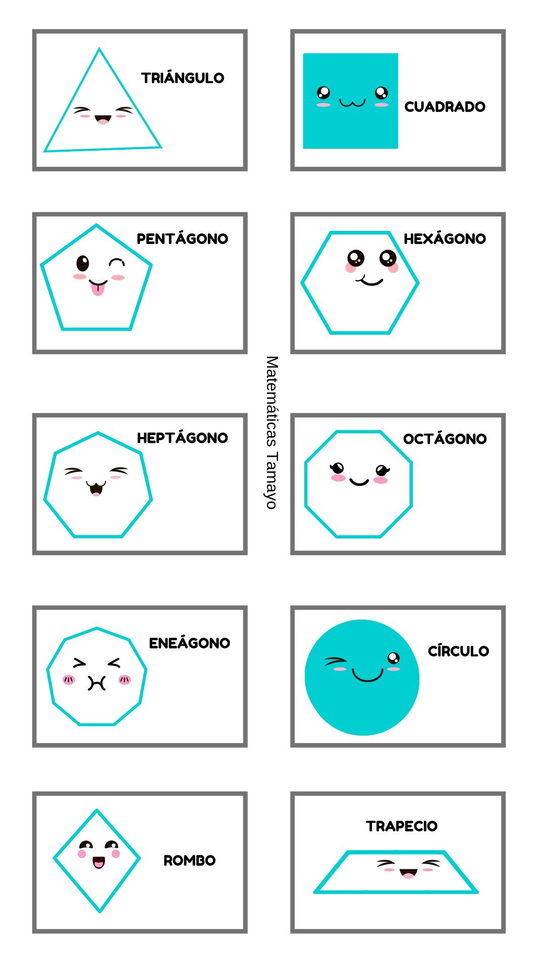 Micrositio Matematicas Tamayo Figuras Geometricas Para Colorear