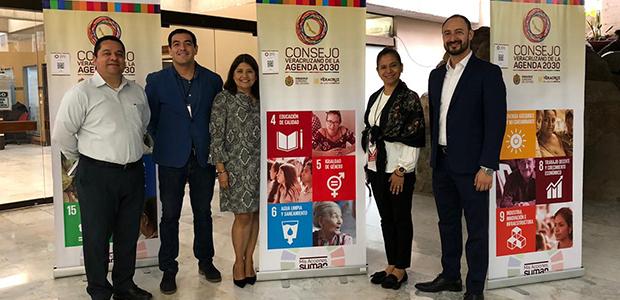 UPV presente en la sesión ordinaria 2020 del Consejo Veracruzano de la Agenda 2030 para el Desarrollo Sostenible